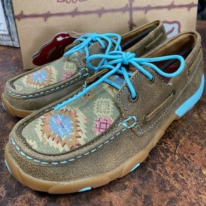 Limited Edition Twisted X Leather Driving Mocs